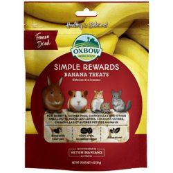 Oxbow - Simple Rewards - Banana Treats - Banán 30g