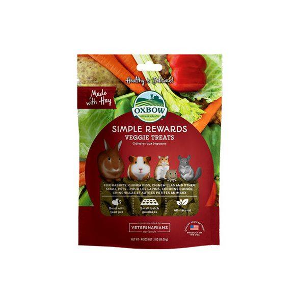 Oxbow - Simple Rewards - Veggie Treats - Zöldséges 85g