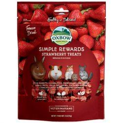 Oxbow - Simple Rewards - Strawberry Treats - Eper 15g