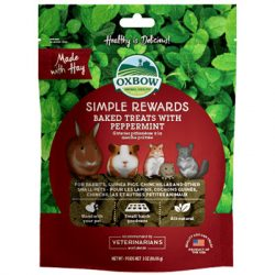 Oxbow - Simple Rewards - Baked Treats with Peppermint - Borsmenta 85g