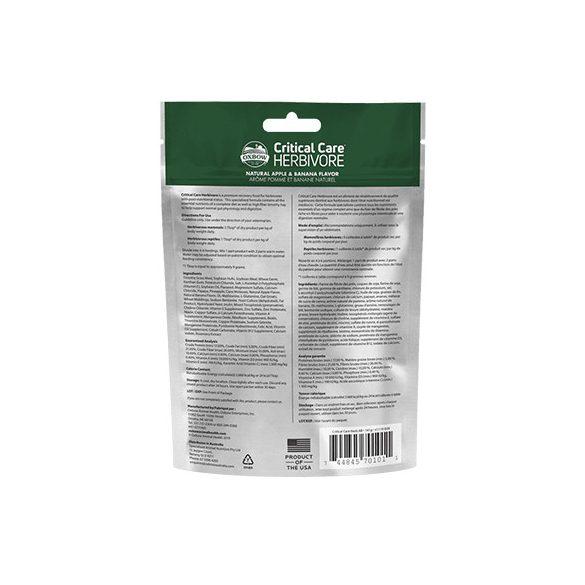 Oxbow Critical Care Apple / Banana 141g
