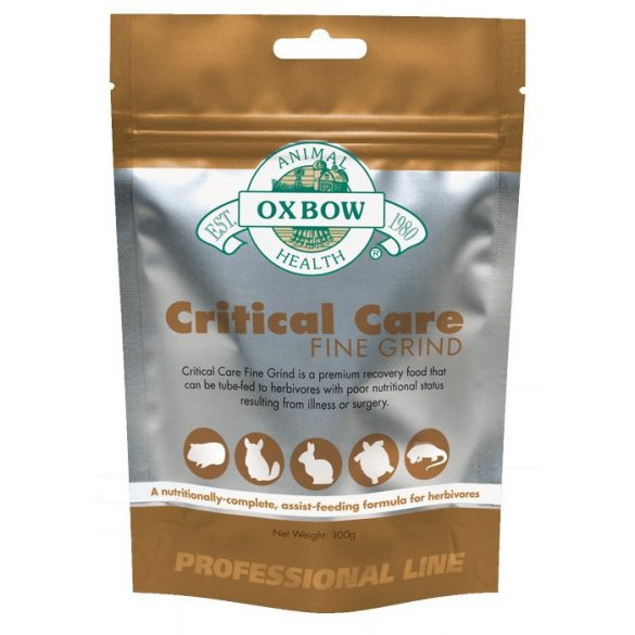 Oxbow Critical Care Fine Grind 100g