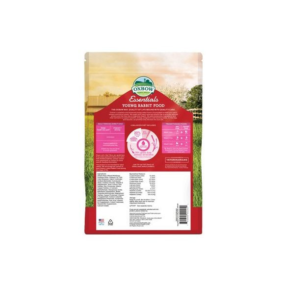 Oxbow Essentials Young Rabbit 4,5kg