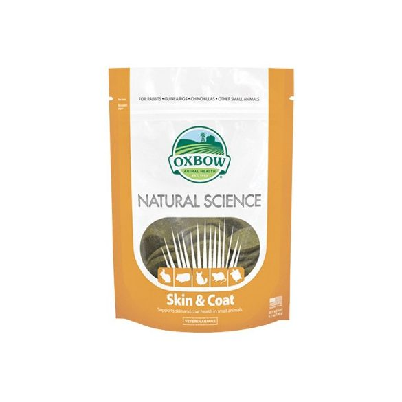 Oxbow Natural Science Skin and Coat 120g