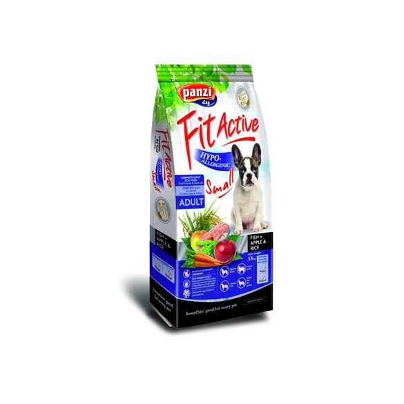 Panzi FitActive Hypoallergenic Small Fish Adult 300g