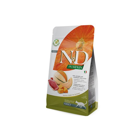 N&D Cat Pumpkin Adult Kacsa és Sárgadinnye 300g
