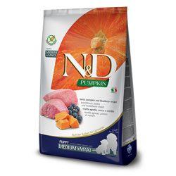 N&D Dog Grain Free Bárány & Áfonya Sütőtökkel Puppy Medium/Maxi 2,5kg