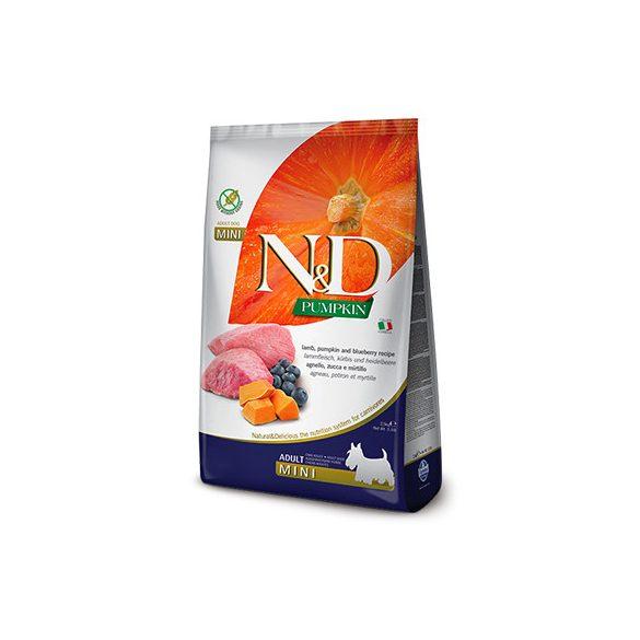 N&D Dog Grain Free Bárány & Áfonya Sütőtökkel Adult Mini 2,5kg