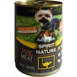 Spirit Of Nature Dog Konzerv Strucchússal 415g