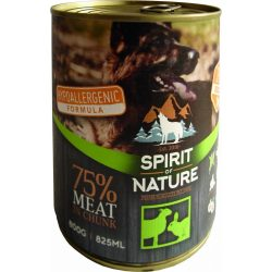 Spirit Of Nature Dog Konzerv Bárányhússal és Nyúlhússal 800g