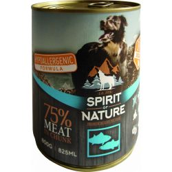 Spirit Of Nature Dog Konzerv Tonhallal és Lazaccal 800g