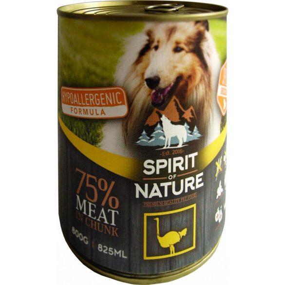 Spirit of Nature Dog Konzerv Strucchússal 800g