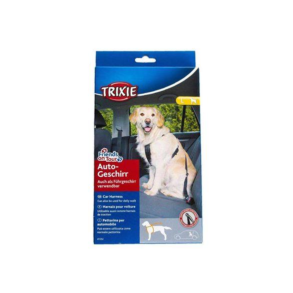 Trixie biztonsági öv hámmal  L 70-90 cm