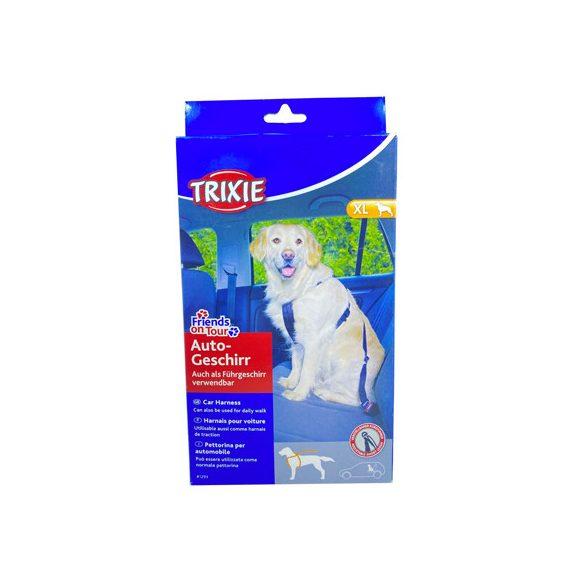Trixie biztonsági öv hámmal  XL 80-110 cm - KIFUTÓ