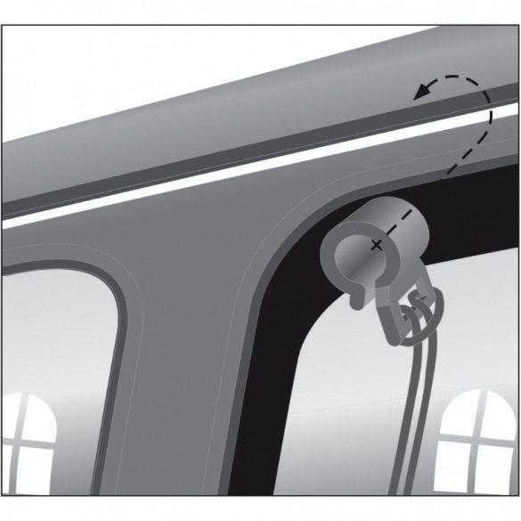 Trixie Térelválasztó Háló Autóba 1×1m
