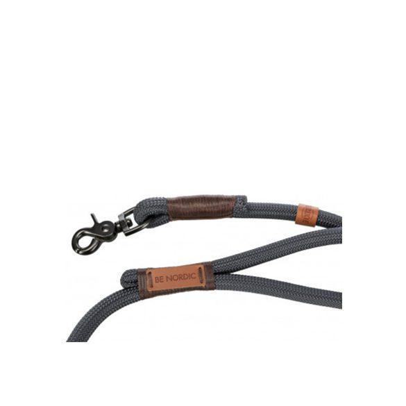 Trixie Nordic póráz L-XL sötétszürke, barna 1m/13mm