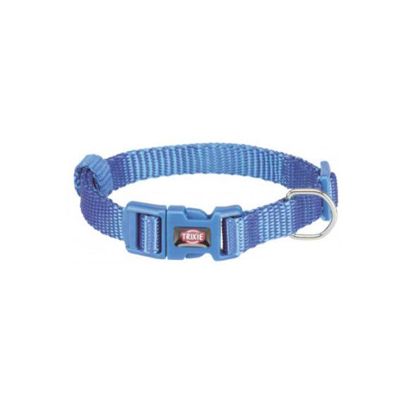 Trixie Prémium nyakörv XS-S király kék 22-35cm / 10mm