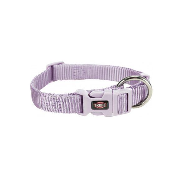 Trixie Prémium nyakörv S-M világos lila 30-45cm / 15mm