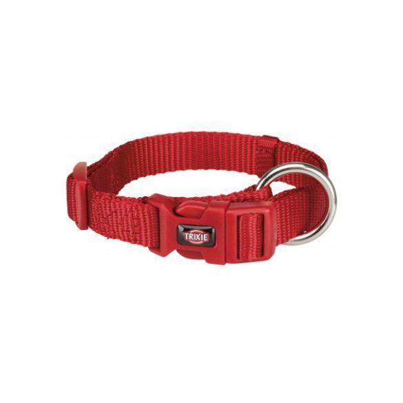 Trixie Prémium nyakörv L-XL piros 40-65cm / 25mm
