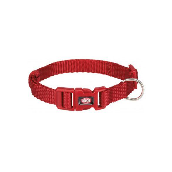 Trixie Prémium nyakörv S piros 25-40cm / 15mm