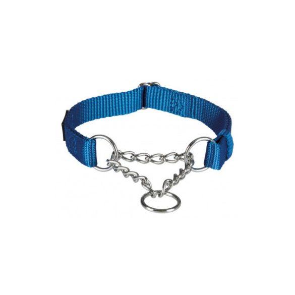 Trixie Prémium fojtó nyakörv M-L király kék 35-50cm / 20mm