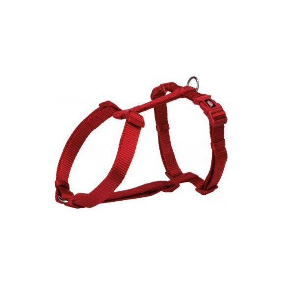 Trixie Prémium hám H L piros 60-87cm / 25mm