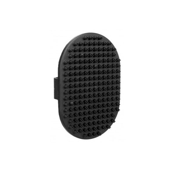 Trixie kefe kézrehúzható gumi sörte 9×13cm