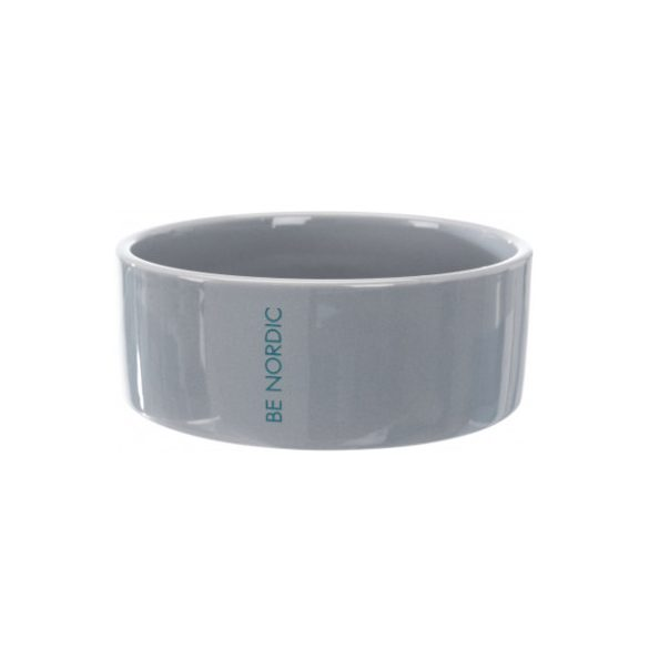 Trixie Nordic kerámia tál szürke 0,3l/12cm