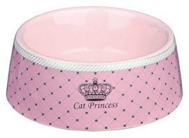 Trixie Cat Princess Kerámia Tál 0,18l/12cm Pink