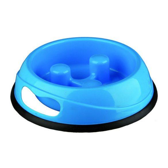 Trixie Evés Lassító Műanyag Tál Gumitalppal 0,9l/23cm