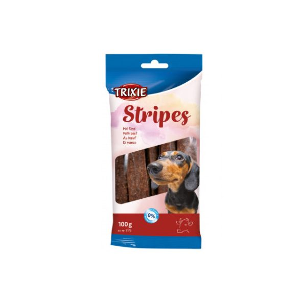 Trixie Jutalomfalat Stripes Light Marhás 10db 100g