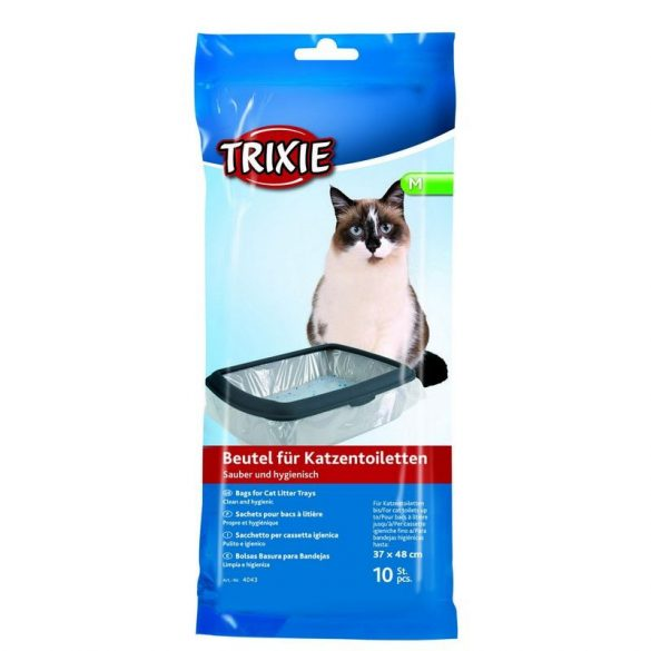 Trixie Zsák Macska WC-be 37×48cm/10db