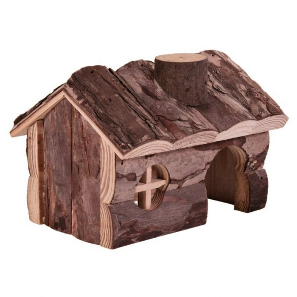 Trixie Ház Fából Rágcsálóknak Hendrik 15×11×12cm