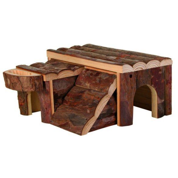 Trixie Ház Fából Rágcsálóknak Luka 14×7×14cm