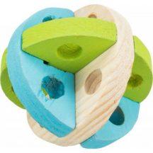 Trixie Játék Fa Karika Rágcsálóknak 8cm