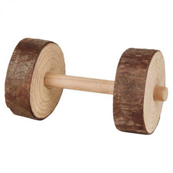 Trixie játék Súlyzó Fából 2 Féle 9×4.5cm