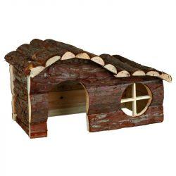 Trixie Ház Fából Hullámtetős Tengerimalacnak Hanna 31×19×19cm