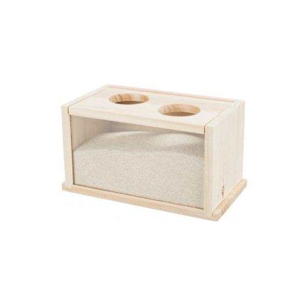 Trixie homokfürdő doboz 22x12x12cm