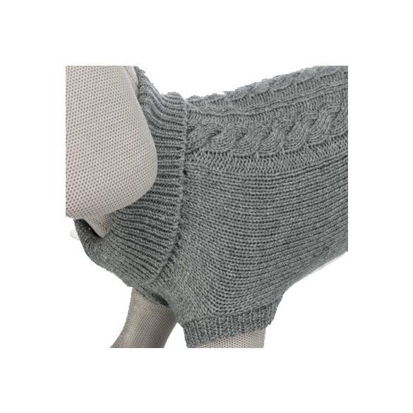 Trixie pulóver Kenton 30cm - Szürke