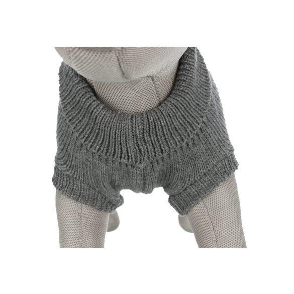 Trixie pulóver Kenton 45cm - Szürke