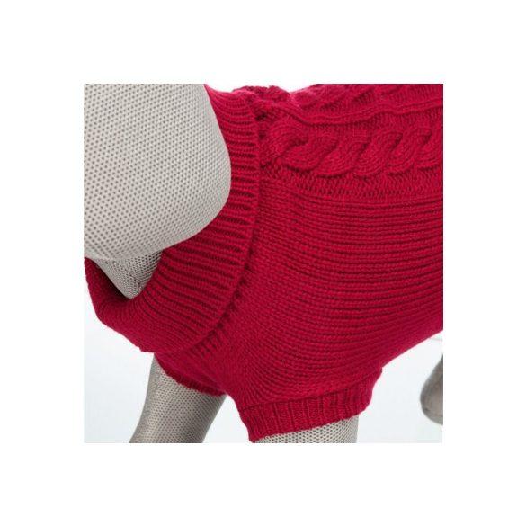Trixie Kenton pulóver XS 24cm piros