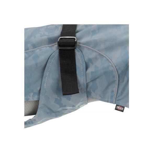 Trixie Lunas esőkabát fényvisszaverős M 50cm ezüst/kék