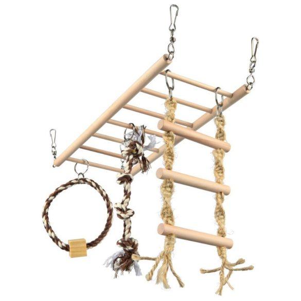 Trixie Függő Híd Fából és kötéllel 35x15cm