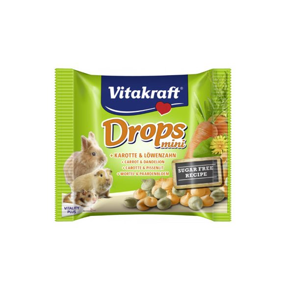 Vitakraft Mini Drops sárgarépa 40g