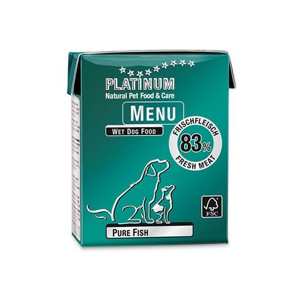 Platinum Menu pure fish - hal konzerv 375g