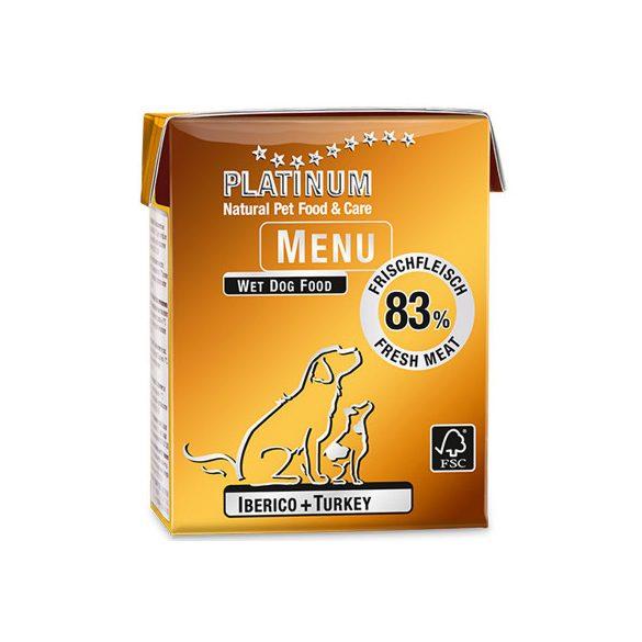 Platinum Menu Iberico + turkey - ibériai sertés és pulyka 375g
